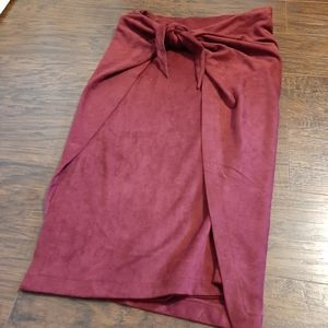 NWT Umgee USA Skirt w/ Attached Wrap Size L